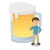 お酒を飲んだあとに必ずおならがひどくなります。どんな対策をすればいい?