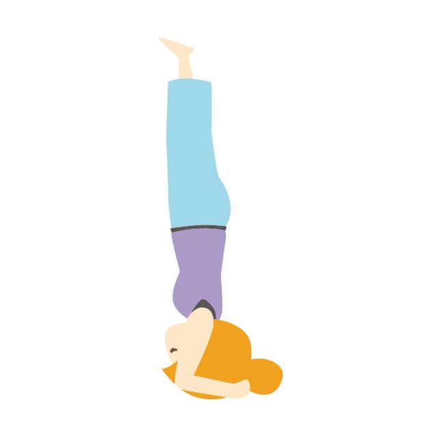 内臓下垂がおならをひどくする!逆立ちで改善しよう